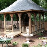 Pressure Washed Gazebo