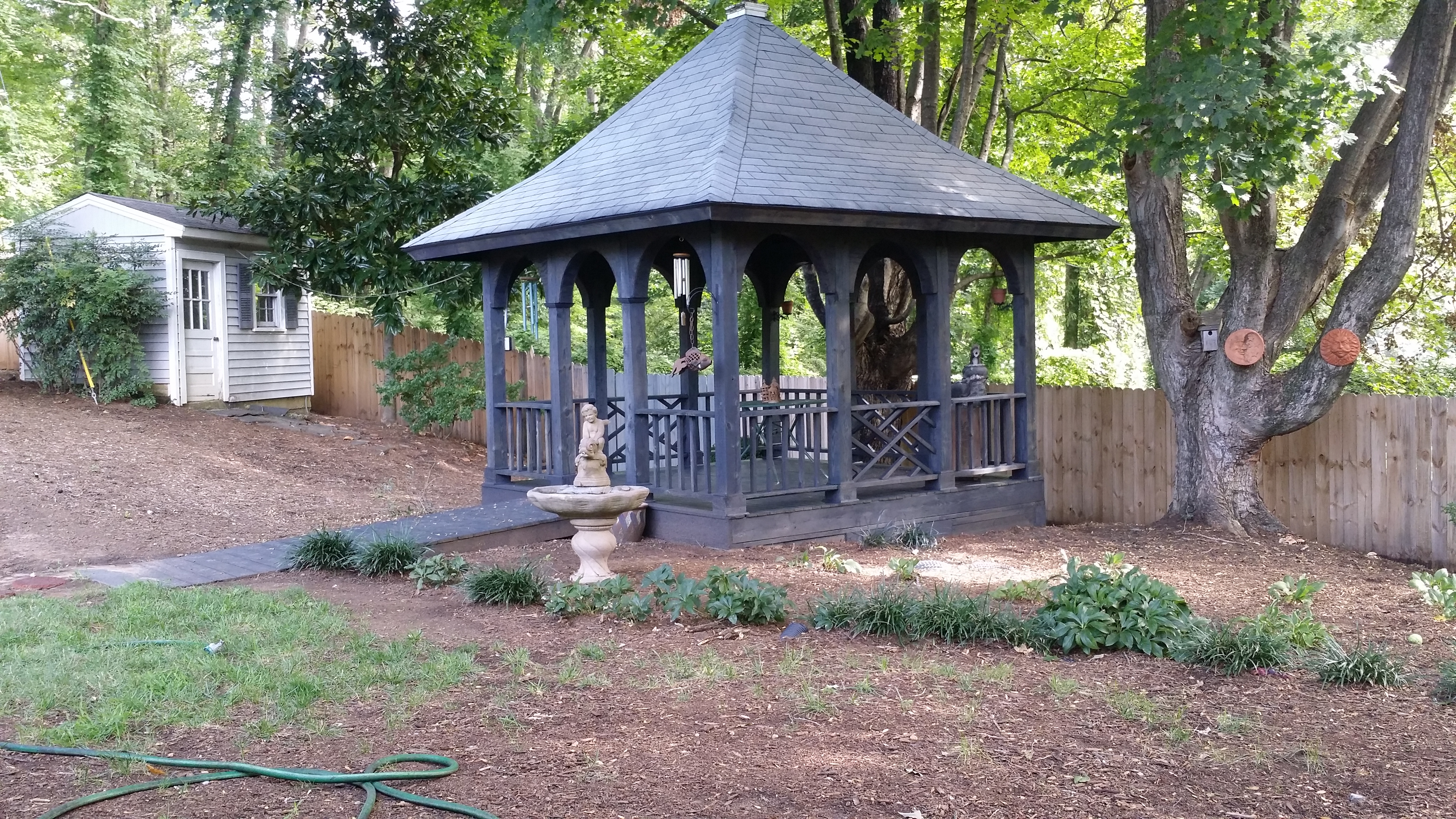 Stained Gazebo