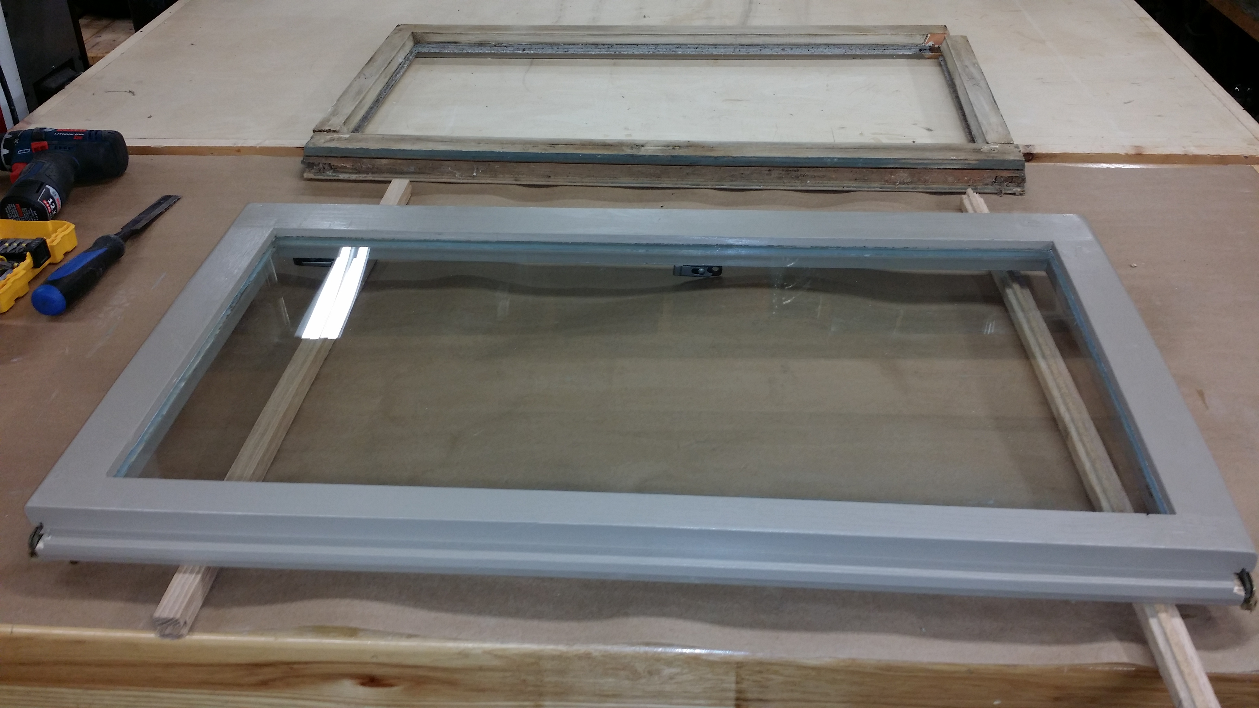 Custom Built Replacement Window