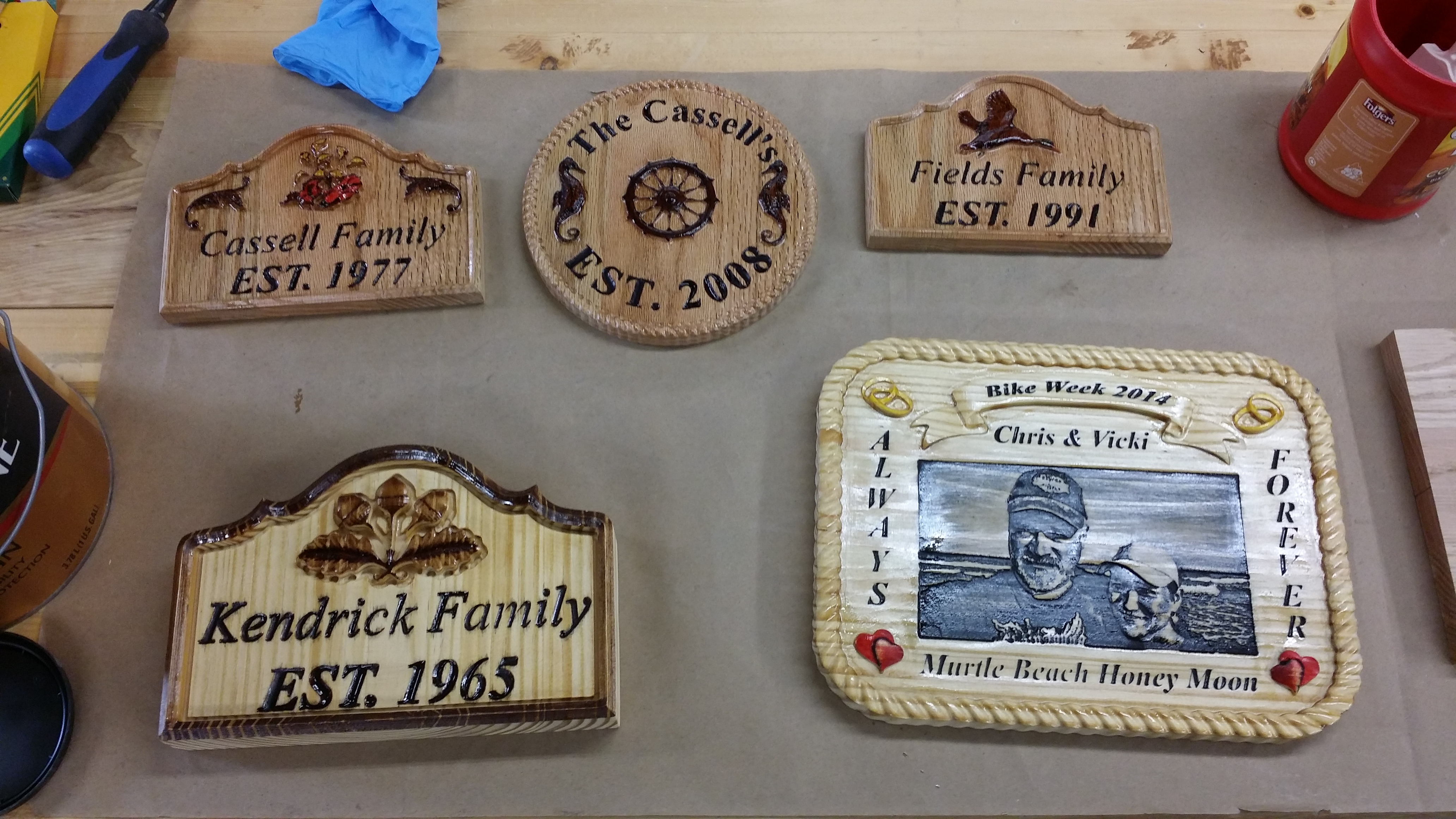 Signs and Plaques